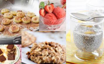 Deserti bez šećera i mliječnih proizvoda